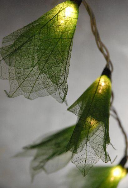 40099924801 skeleton leaf string lights