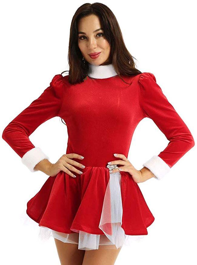 vestido de ballet navidad