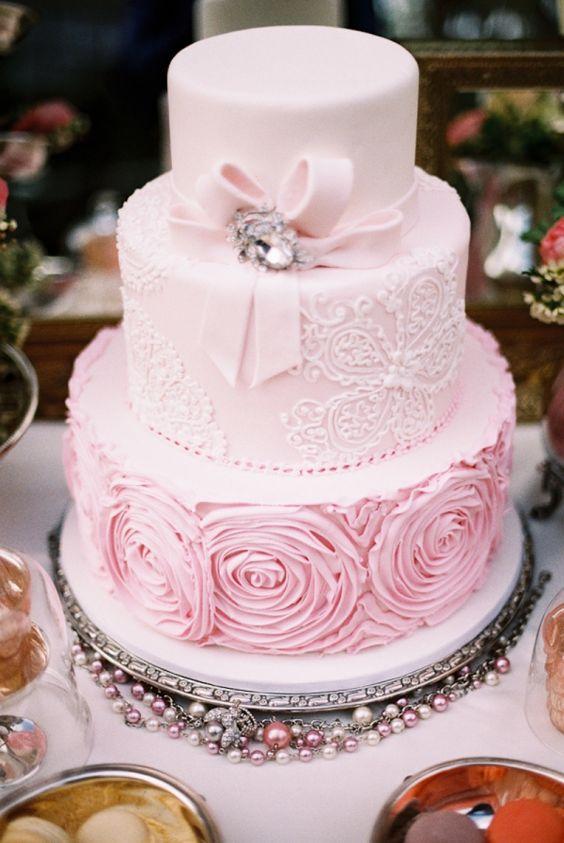 ideas para un quinceañero color de rosa