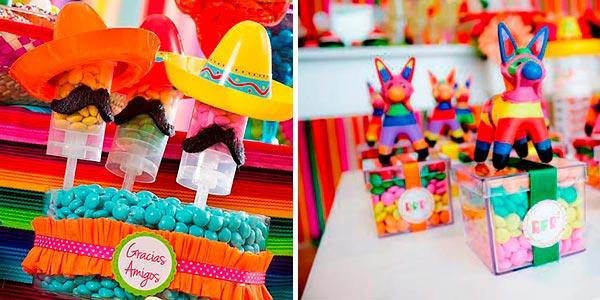 quinceañero con el tema mexicano