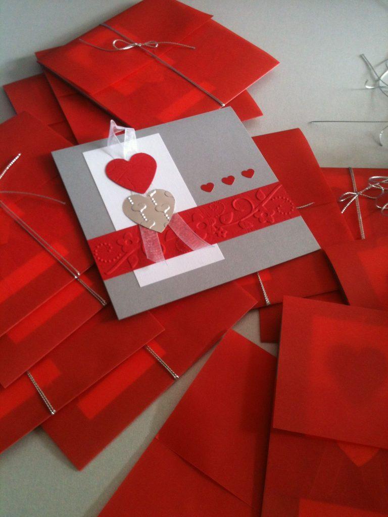 invitaciones corazon