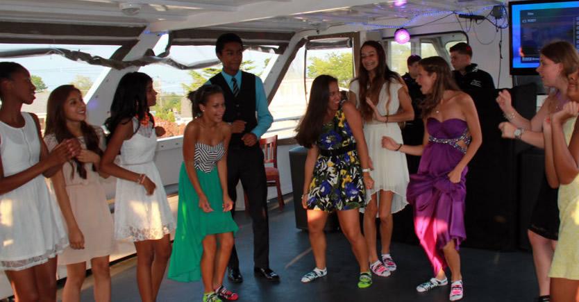 fiesta de quince en barco