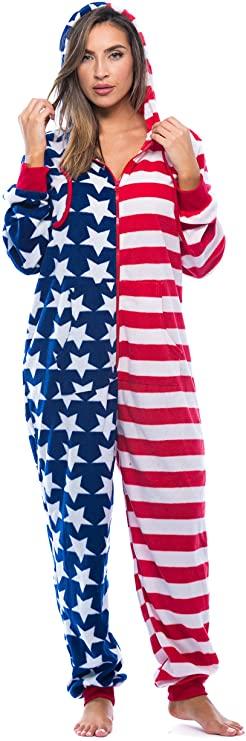 pijama patriota para el 4 de julio día de la independencia
