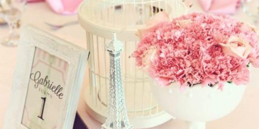Quinceañero Temático de la Torre Eiffel