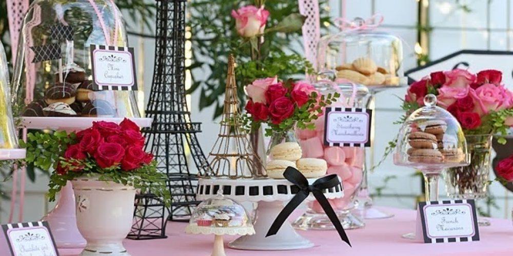 Ideas para Quinceañero Temático de París