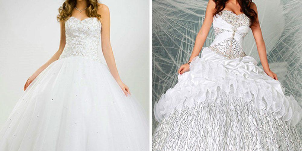 Estilos de Vestidos Blancos para Quinceañeras
