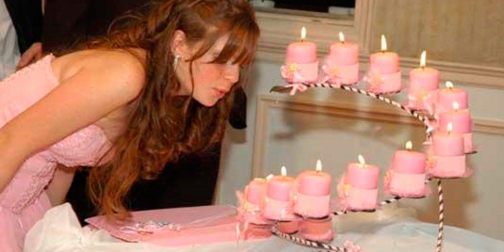 Ceremonia de las 15 velas